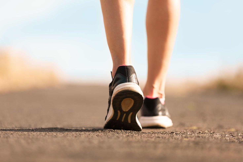 Kỹ thuật đi bộ giảm cân