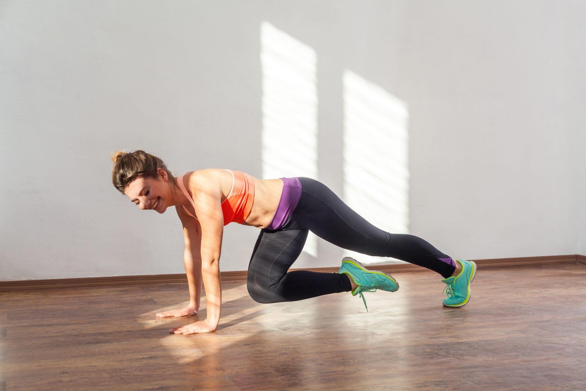 giảm mỡ toàn thân - tập plank