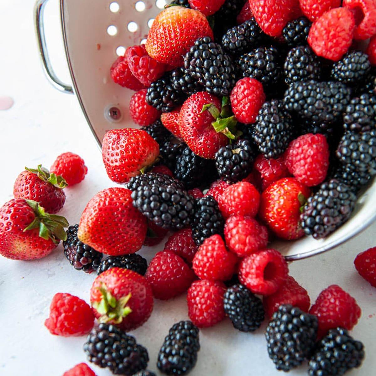 berry  giảm cân