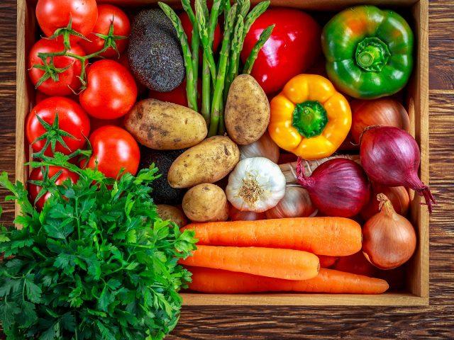 Bí quyết giảm cân với rau củ