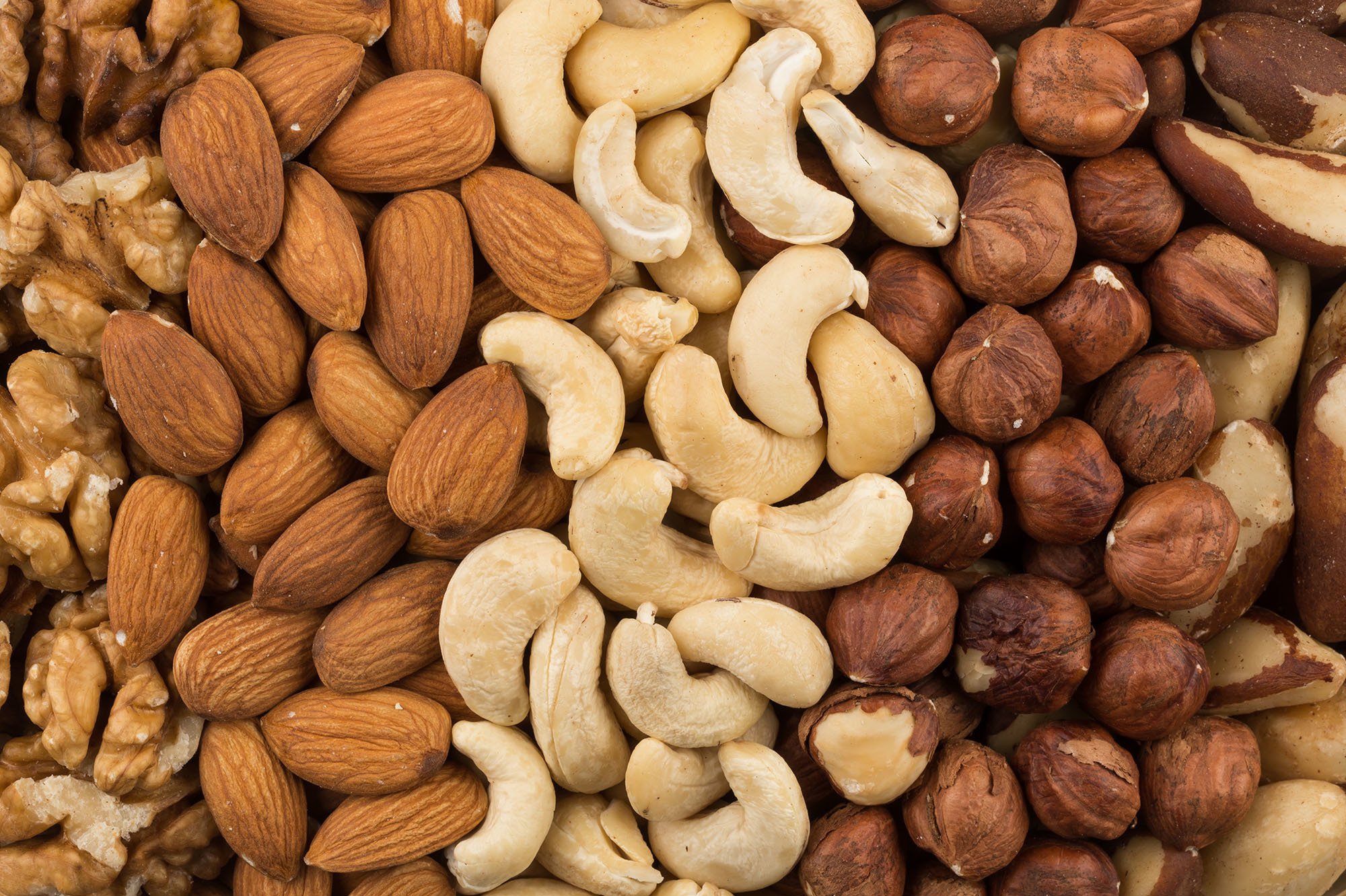 vitamin từ các loại hạt