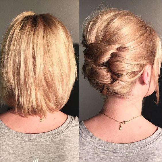 Búi tóc từng phần