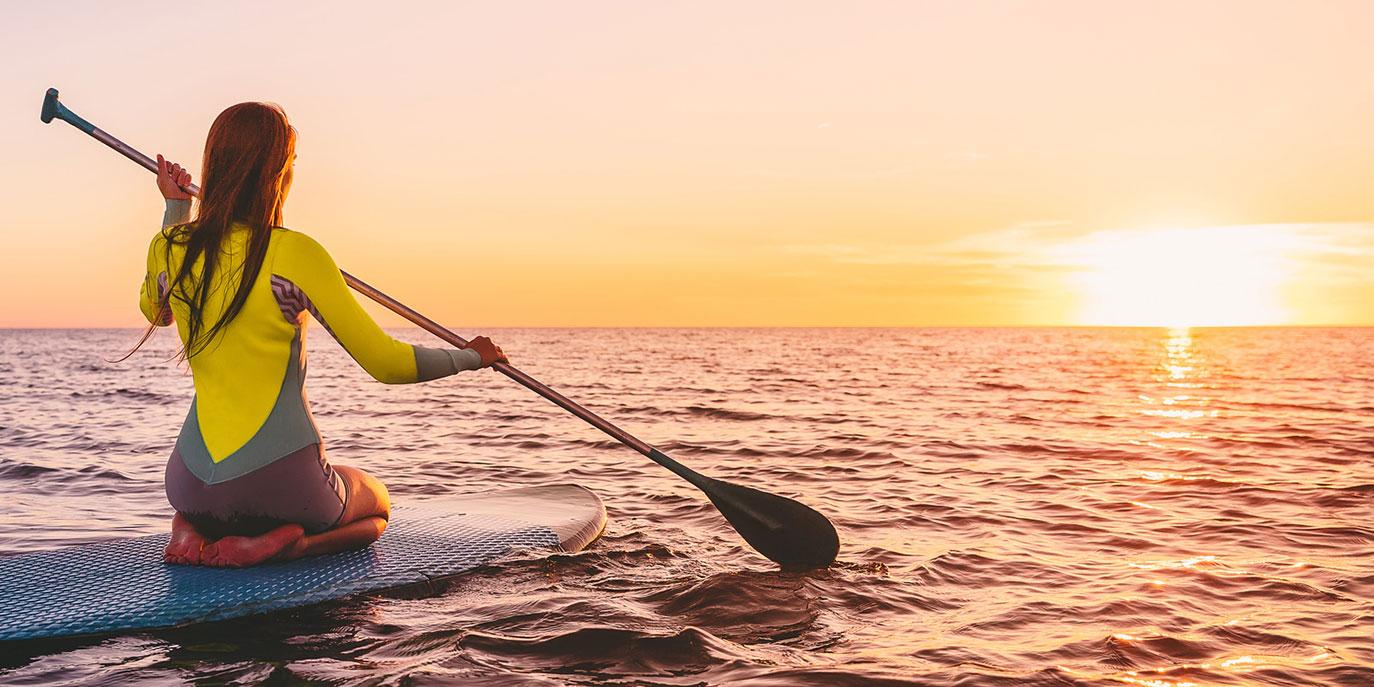 Lướt ván có mái chèo