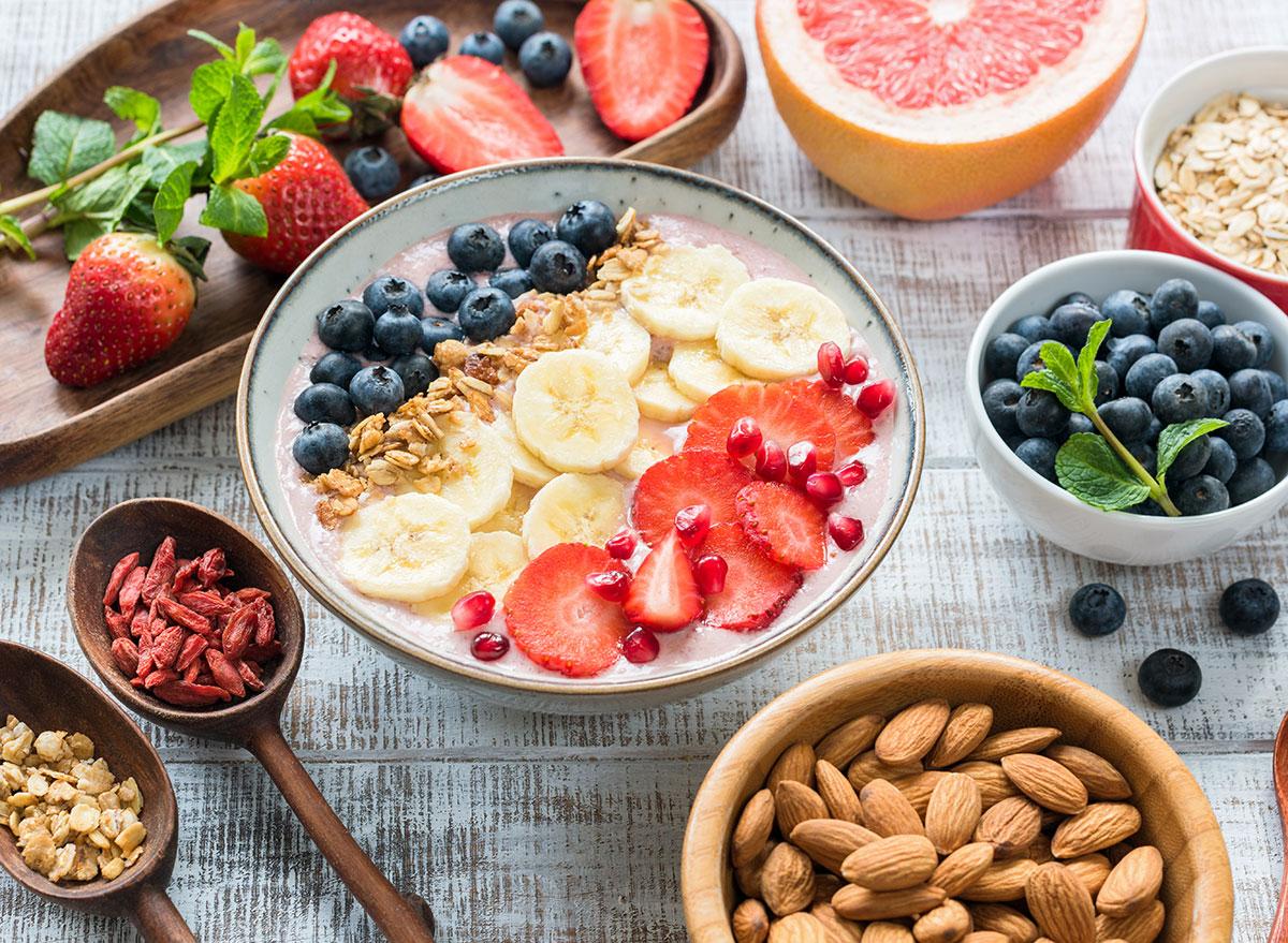 Thực đơn eat clean giảm cân ngày 5