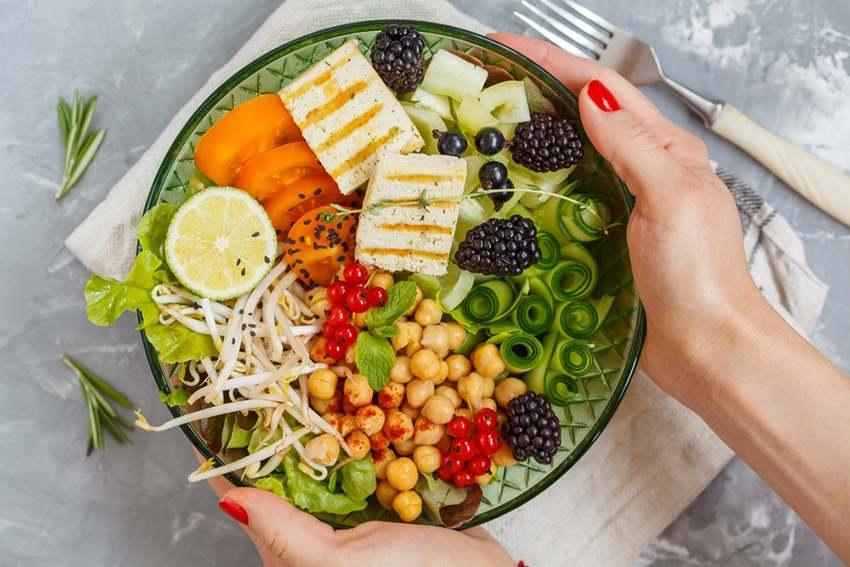 Thực đơn eat clean giảm cân ngày 2