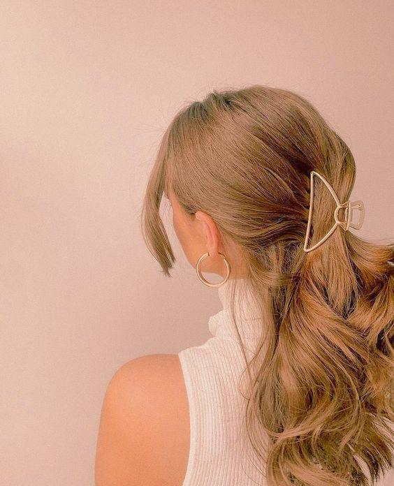 kiểu tóc búi