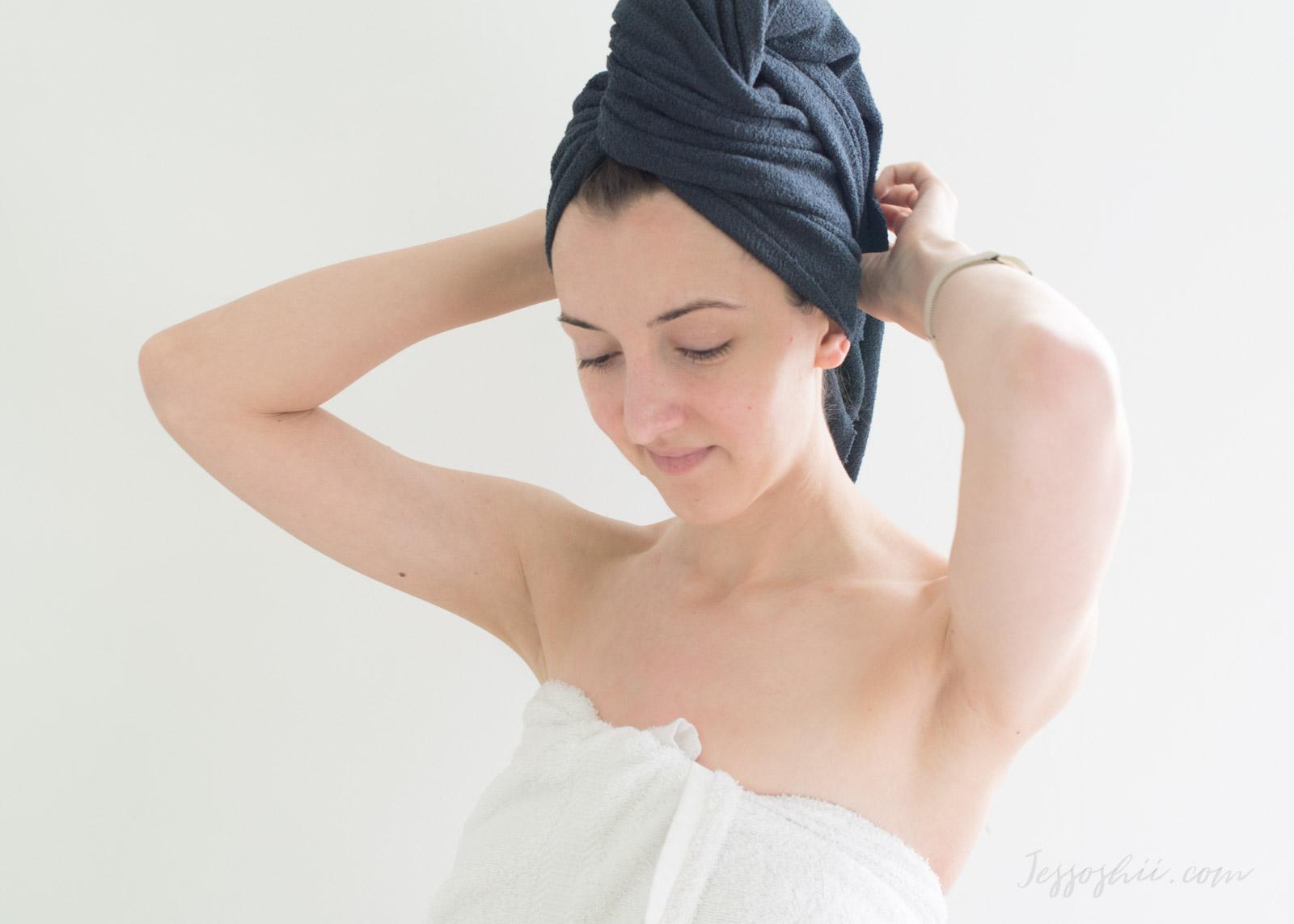 Aquis Lisse Luxe Hair Turban and Hair Towel