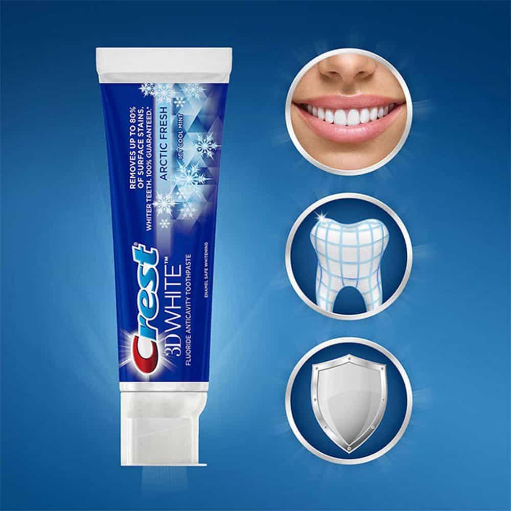 kem đánh răng trị hôi miệng Crest