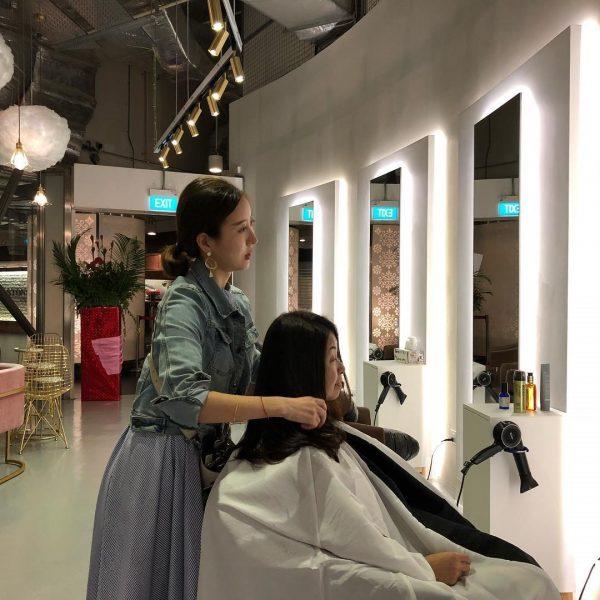 Làm mẫu tóc cho các salon