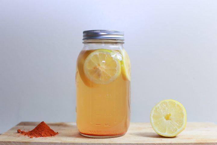 nước uống giảm cân sau sinh