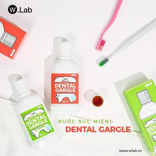 Nước súc miệng Clear Dental Gargle W.Lab