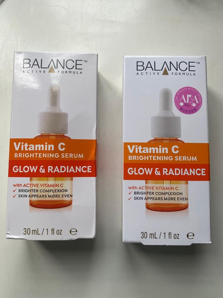 bao bì sản phẩm Serum Vitamin C Balance