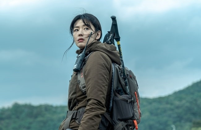 Jun Ji Hyun trong Mount Jiri