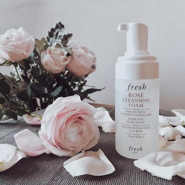 Sữa rửa mặt Fresh Rose Cleansing Foam