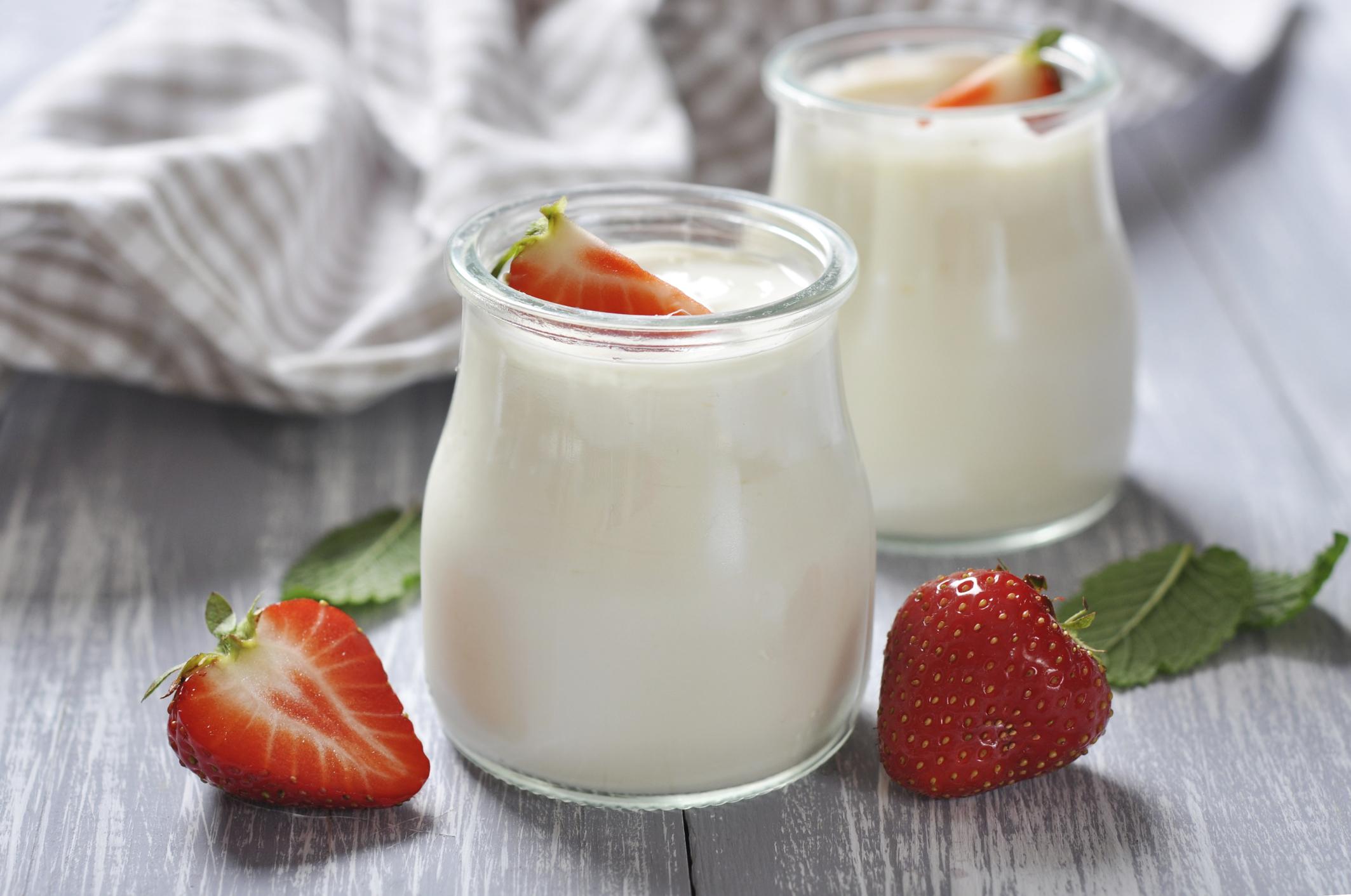 Các món ăn giảm cân tốt nhất - sữa chua