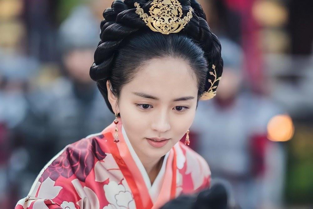 diễn viên kim so hyun trong river where the moon rises